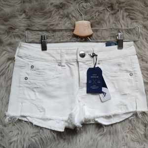 New With Tag AOE White Shortie